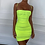 Thumbnail: Oui Spaghetti Strap Mesh Dress