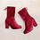 Thumbnail: Solid Zip Ankle Boots