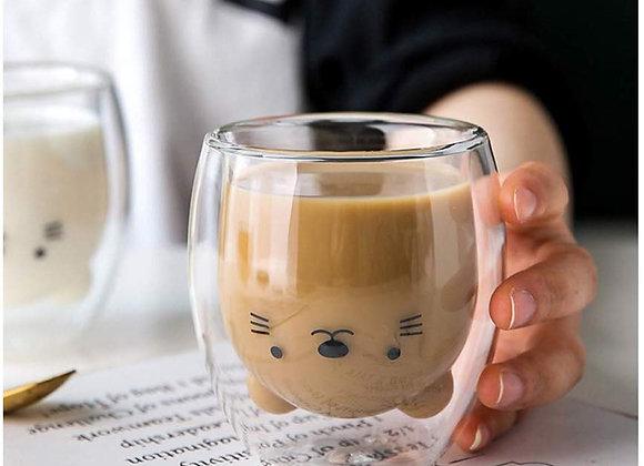 Creative Double-Layer Coffee Mug