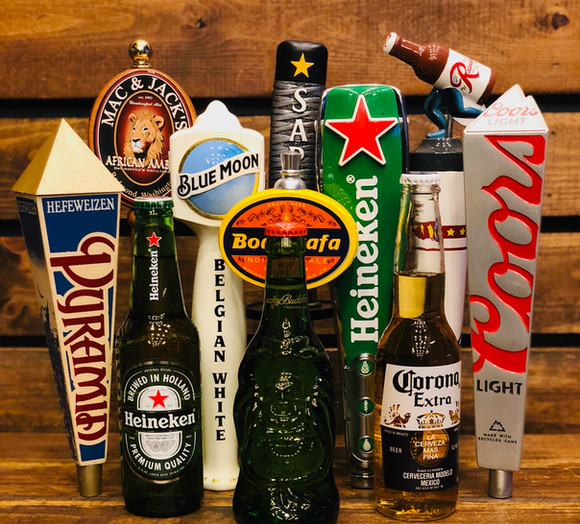 Beers on Tap and in the bottle