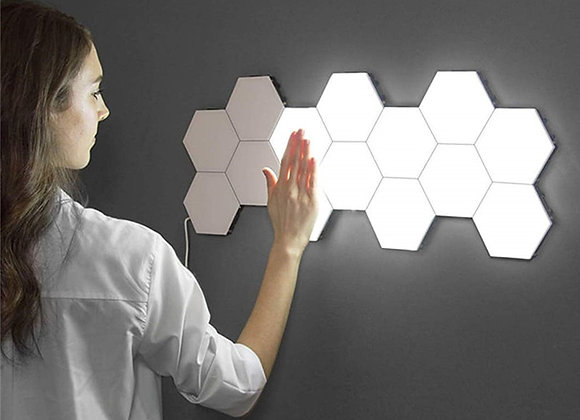 Honeycomb Sensory LED Wall Lights