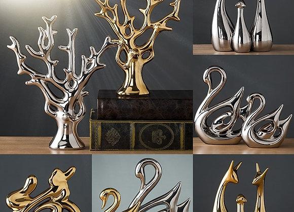 Modern Ceramic Decorative Figurine
