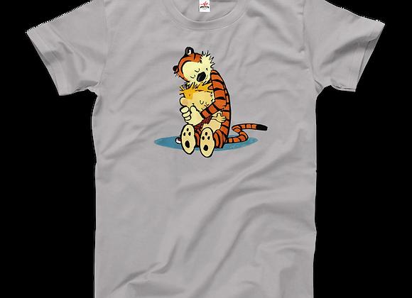 Calvin and Hobbes Hugging T-Shirt