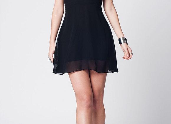 Laras Mini Black Dress