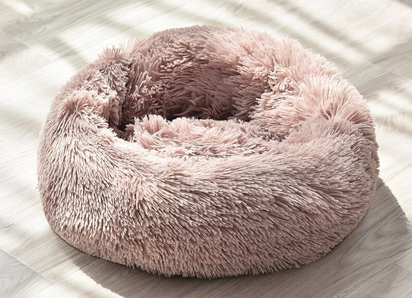 Super Soft Long Plush Donut Bed