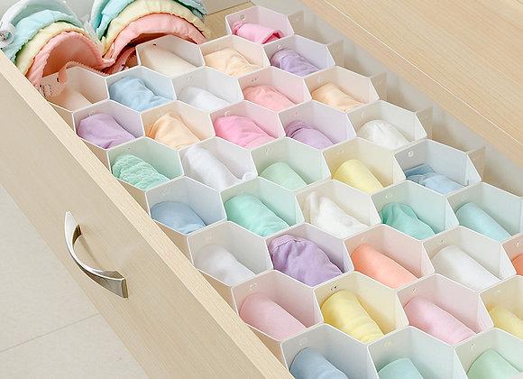 Honeycomb Socks/Underwear Organizer For Drawer