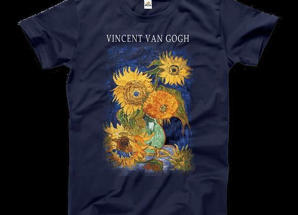 Vincent Van Gogh Five Sunflowers (1888) Shirt