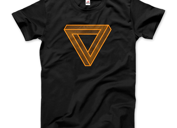 A Journey Through Time Penrose Triangle Shirt