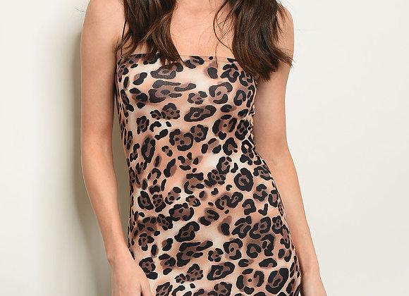Animal Leopard Print Dress