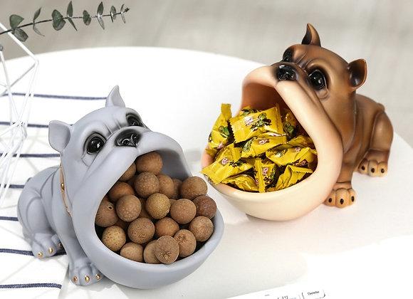 3D Sculpture Dog Decor/Storage