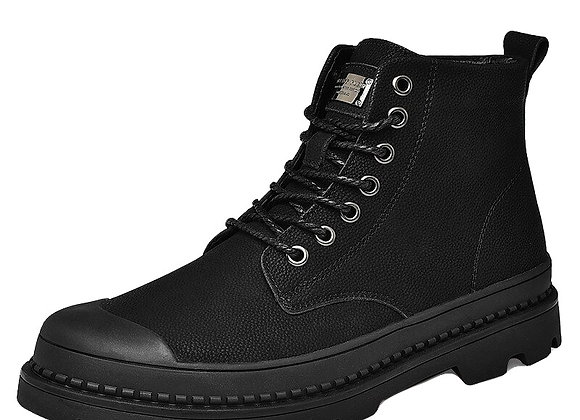 Warm Genuine Leather Winter Boots