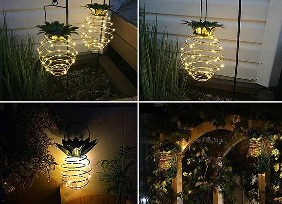 Solar Powered LED Garden Pineapple Lawn Lights