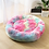 Thumbnail: Super Soft Long Plush Donut Bed