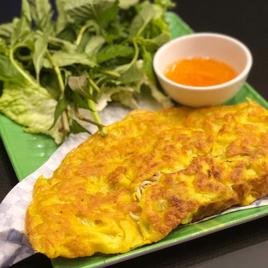 Vietnamese Sizzling Crepe