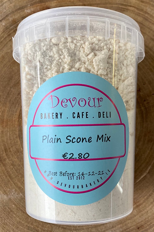 Devour, Bake at Home, Plain Scone Mix