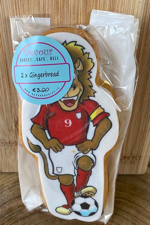 2 x Footballer Gingerbread