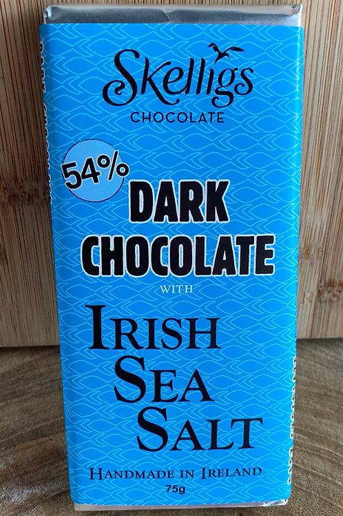 Skelligs Dark Chocolate with Irish Sea Salt