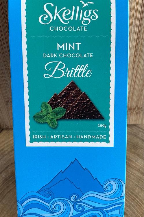 Skelligs Brittle Mint Dark Chocolate