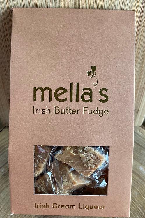 Mella's Irish Cream Liqueur Irish Butter Fudge