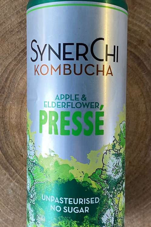 Synerchi, Kombucha, Apple & Elderflower Pressè