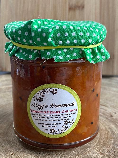 Lizzy's Tomato & Fennel Chutney