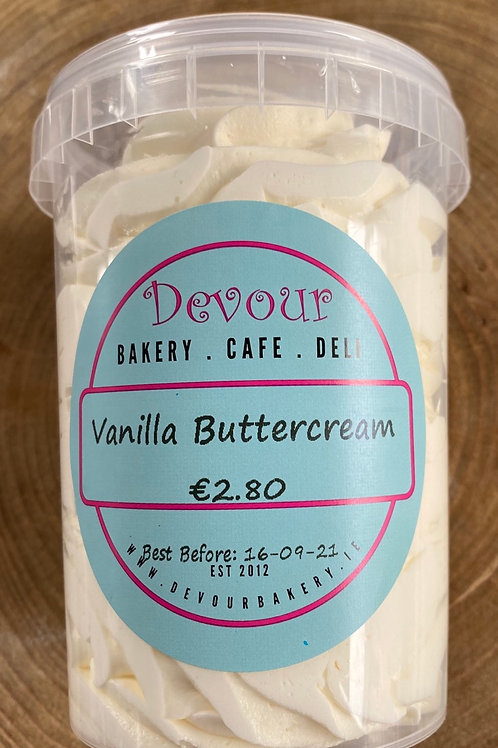 Devour Bake at Home, Vanilla Buttercream