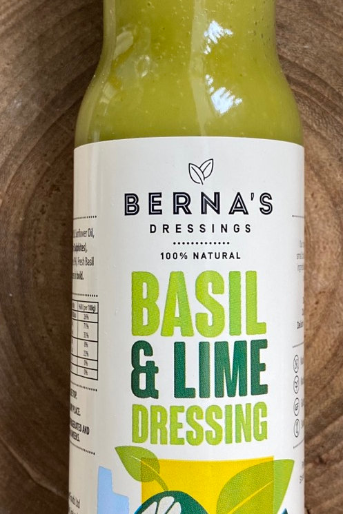 Berna's Dressings, Basil & Lime Dressing