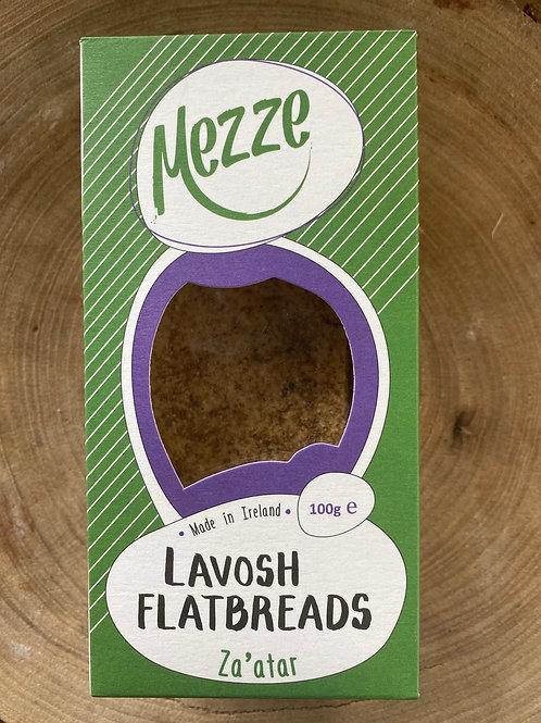 Mezze, Lavosh Flatbreads , Za'atar