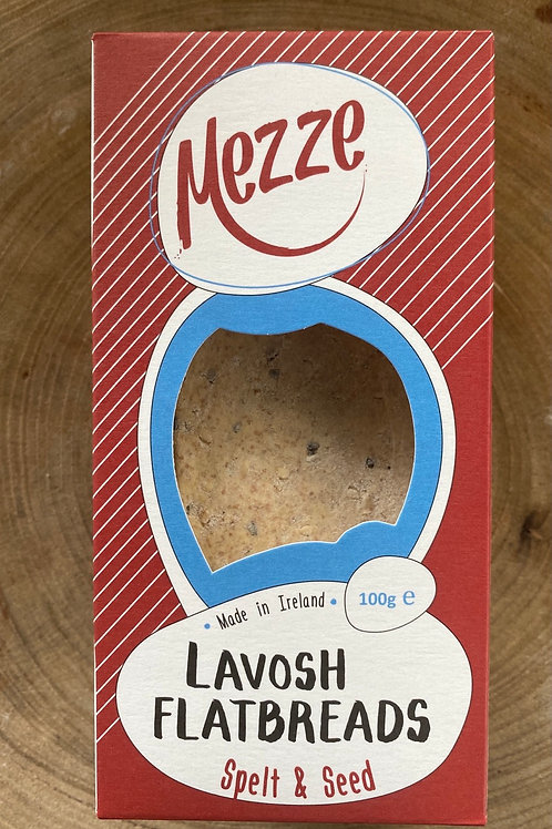 Mezze, Lavosh Flatbreads, Spelt & Seed