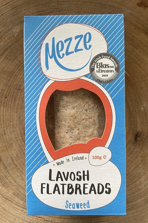 Mezze, Lavosh Flatbreads, Seaweed