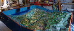 Maquette de bassin versant