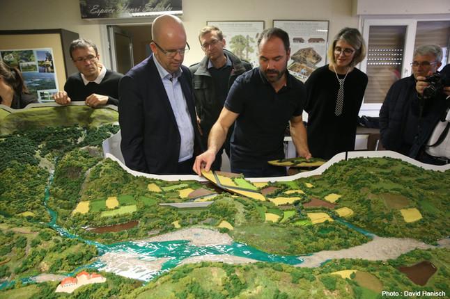Maquette hydraulique de bassin versant
