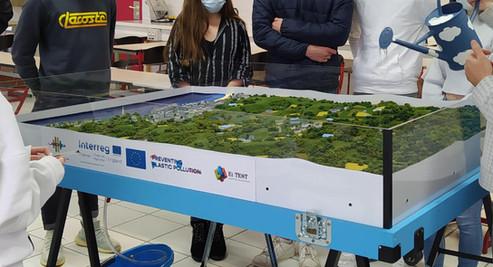 Maquette Labocea Sources et diffusion des pollutions aux plastiques dans les milieux aquatiques