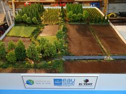 Maquette versant agricole