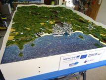 Maquette EPAB Baie de Douarnenez.
