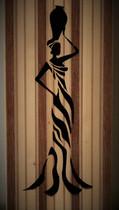 Silhouette femme africaine