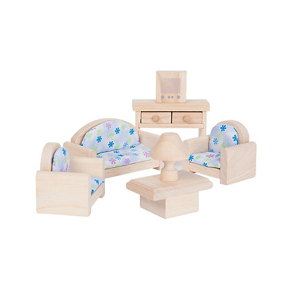 Plan Toys Dolls House Accessory - Living Room 9015