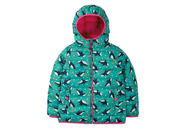 Frugi Toasty Trail Jacket - Penguin Paddle
