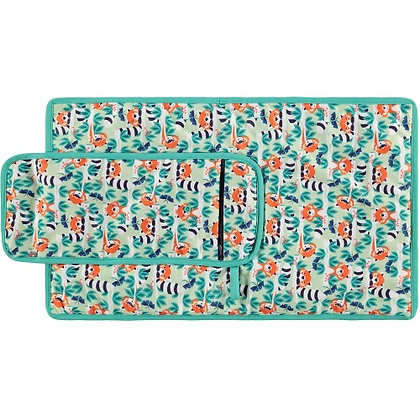 Pop-in Change & Go Mat - Endangered Animal Collection Pop-in Change & Go Mat -