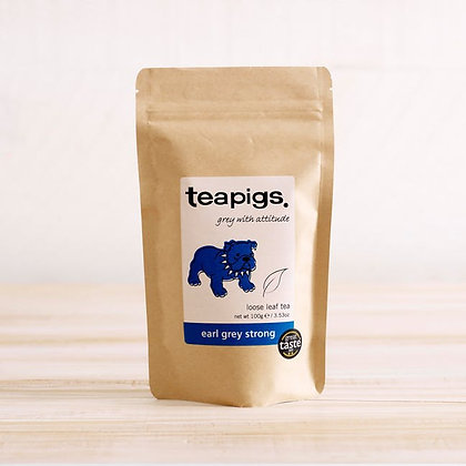 Teapigs Loose Leaf Tea - Earl Grey Strong 250g