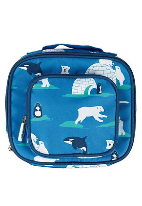 Frugi Pack A Snack Lunch Bag - Polar Play