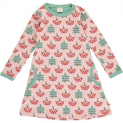 Maxomorra Long Sleeve Dress - Ruby Rowanberry