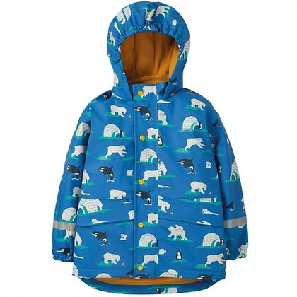 Frugi Puddle Buster Coat - Polar Play