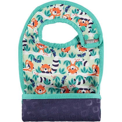 Pop-in Bib Stage 2 - Endangered Animal Collection