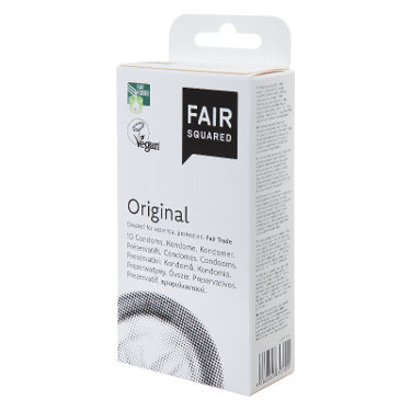 Fair Squared Original Condoms - Pack of 10