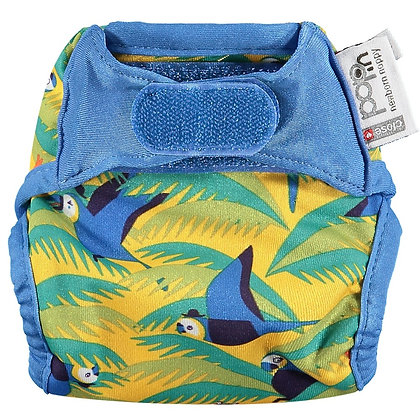 Pop-in Newborn Single Printed Nappy - Endangered Animal Collection
