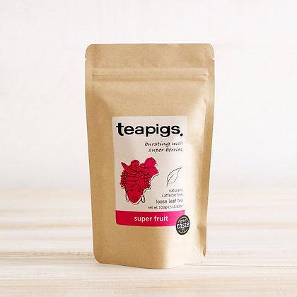 Teapigs Loose Leaf Tea - Super Fruit 200g