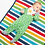 Thumbnail: Kite Clothing Sheepy Stripe Sleepsuit
