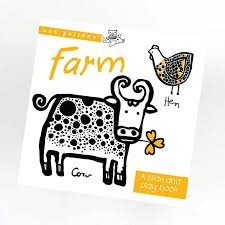 Wee Gallery Slide and Play Book -Farm