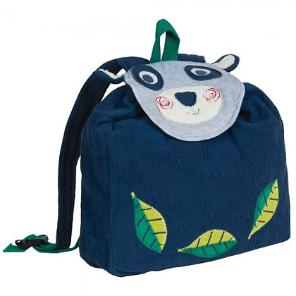 Frugi Playtime Character Backpack - Panda